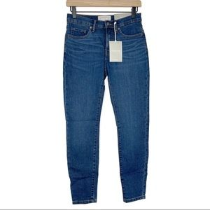 EVERLANE Mid Rise Skinny Ankle Jeans 26 NWT